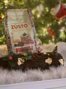 Zùsto Kerstbuche met chocoladevulling