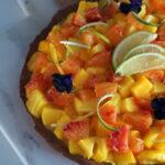 fruitige lentetaart minder suiker